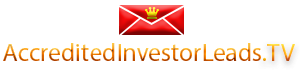 Investor Leads, Real Estate Accredited Investors for sale